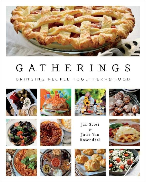 Gatherings cookbook Julie Van Rosendaal