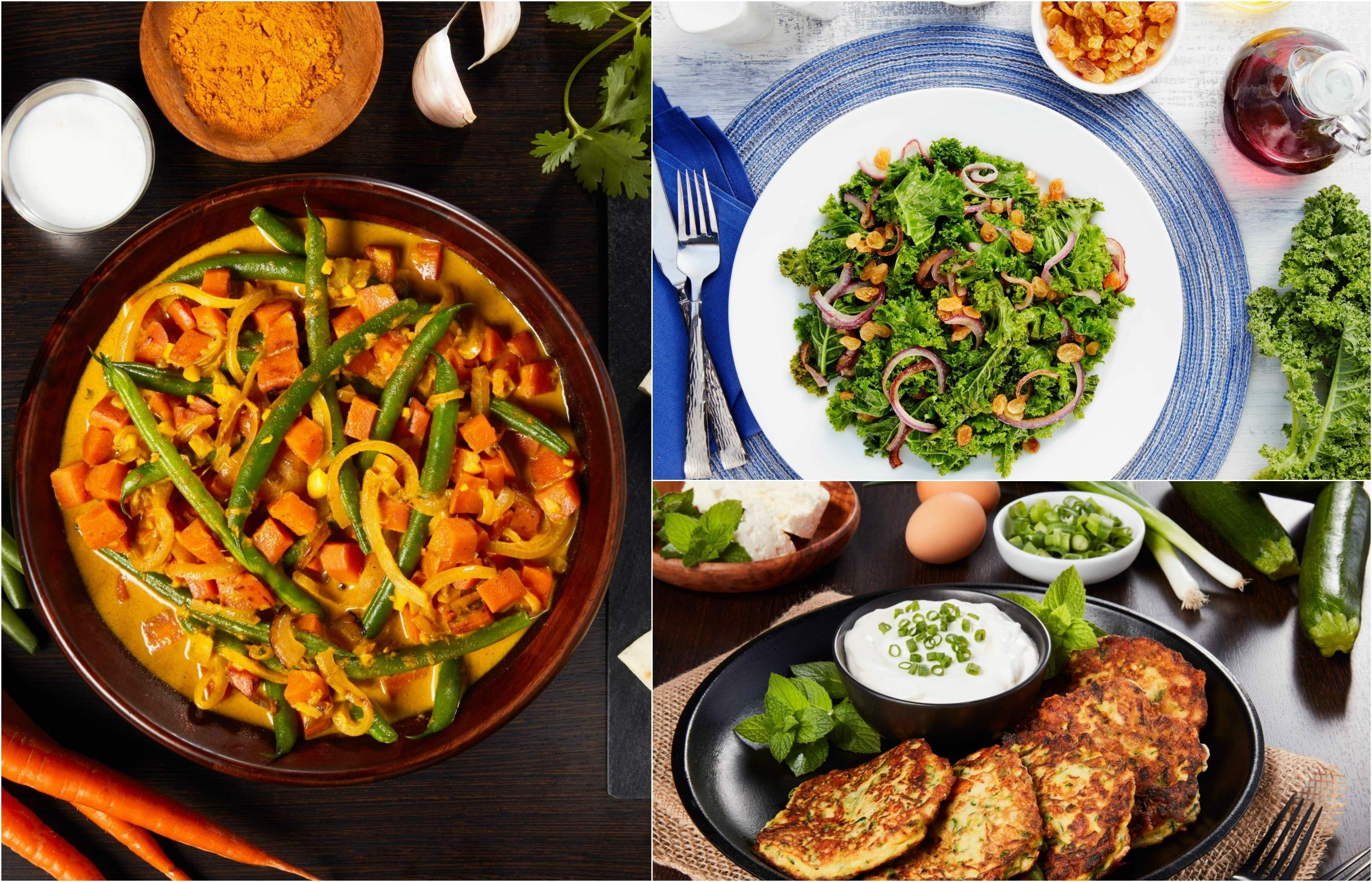 Try these easy vegetable recipes this back-to-school season