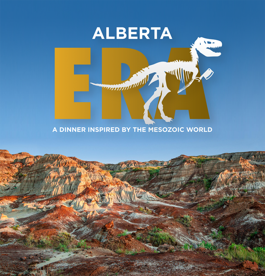 Image for Alberta ERA: A dinner inspired by the Mesozoic Era returns to Drumheller June 8