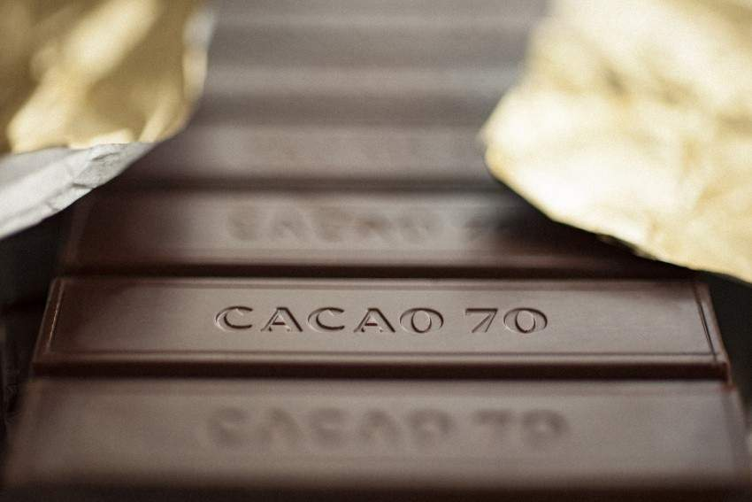 Chocolate from Cacao 70.