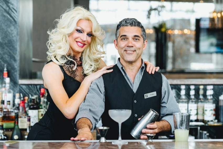 Image for Vancouver's Fairmont Hotel properties team up with celebrated drag queens for Pride