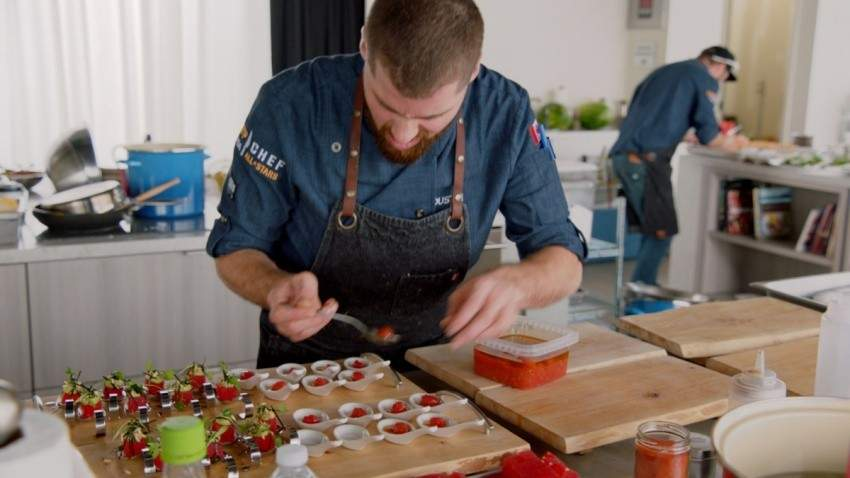 Top Chef Canada; All-Stars Dustin Gallagher