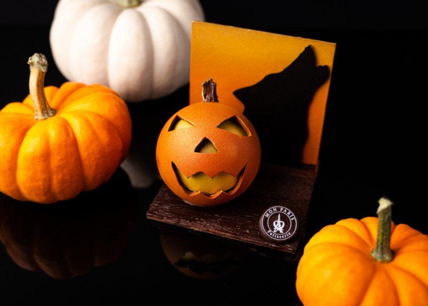 RARE!! SALEM COLLECTION Mini Halloween Assorted Pumpkin Figurines Set Of 6 New