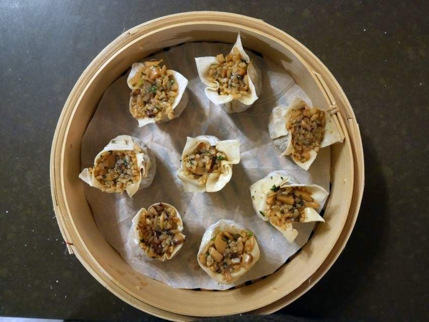 Image for Shanghai-style shao mai with brown rice