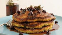 Image for Bob Blumer's blueberry cornmeal pancakes