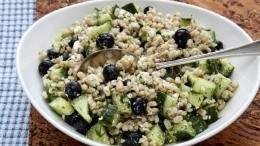 Image for Mairlyn Smith's blueberry salad with barley and dill