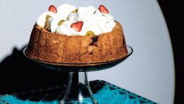 Image for Camilla Wynne's angel food cake from the Jam Bake cookbook
