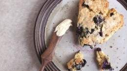 Image for Marcella DiLonardo's chamomile blueberry scones from Bake the Seasons cookbook