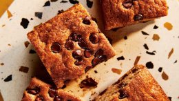 Image for Christine Flynn's chocolate chip banana cake from the How To Eat With One Hand cookbook