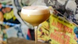 Image for El Rey Mezcal Bar's Where's My Coffee Fam martini
