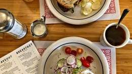 Image for Café Good Luck adds tasty diner fare and a touch of whimsy to Dartmouth's downtown dining scene