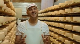 Image for New docuseries Cheese: A Love Story premieres next month on Food Network Canada with Afrim Pristine