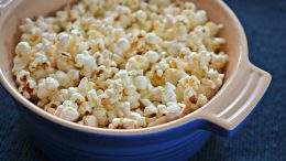 Stovetop popcorn recipe