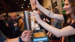 Local craft beers at  Vancouver Craft Beer Week. Photo by Christine McAvoy.