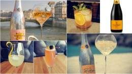 Image for Popping bottles for Yelloweek with Veuve Clicquot