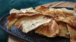 Image for Garlic parmesan pita chips