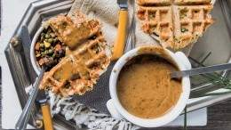 Image for Lauren Toyota's waffle-topped cottage pie