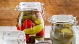 Image for Anna Olson's pickled hot and sweet peppers