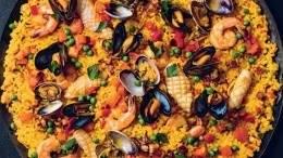 Image for David Robertson's seafood paella