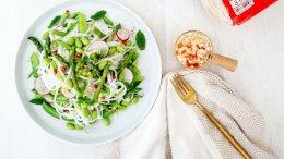 Image for Cold Summer Fresh Thai Rice Noodle Salad