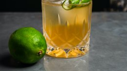 Image for The Perfect Storm cocktail by Straight and Marrow