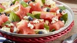 Image for Watermelon and tomato panzanella