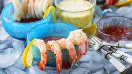 Image for Whitewater Cooks' Shrimp cocktail with lemon basil aioli