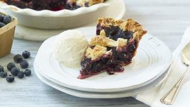 Image for B.C. blueberry lattice top pie