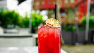Image for Ancora's Purple Storm cocktail