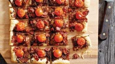 Image for  Chef Michael Olson's bacon and onion tart