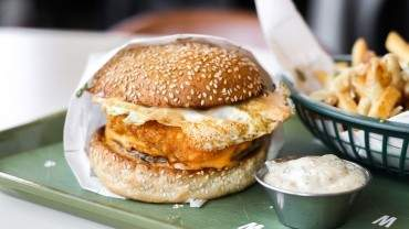 Image for Bells and Whistles All-Day Breakfast Burger