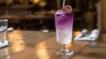 Image for Royal Dinette Butterfly Pea Tea Lemonade cocktail