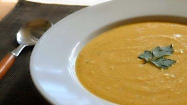 Image for Parmesan butternut squash soup