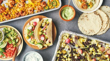 Image for Cauliflower tacos from the Sheet Pan Everything cookbook
