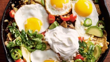 Image for Chilaquiles from How to Eat with One Hand cookbook