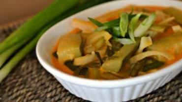 Cucumber and fennel recipe