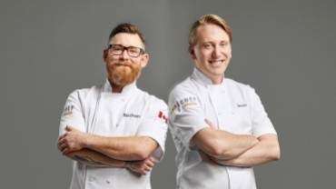 Image for One day in Saskatoon: Top Chef Canada competitors Nathan Guggenheimer and Jesse Zuber