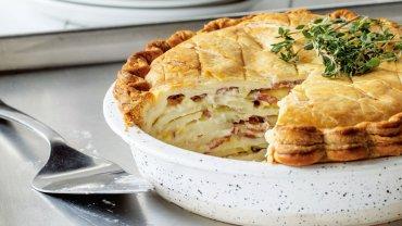 Image for Jenell Parsons' Gruyère, leek and potato pie