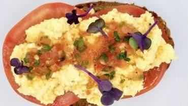 Image for Hotel Arts' tomato vinaigrette