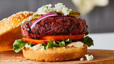 Image for Chef Christa Bruneau-Guenther's zero-waste Pulp Burgers