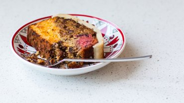 Chef Karine Moulin's modern fruitcake recipe