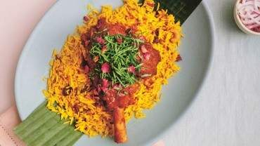 Image for Calcutta Cricket Club's Lamb Shank Kosha Mangsho