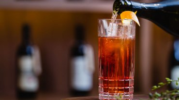 Image for Giovane Bacaro's Lambrusco Spritz cocktail