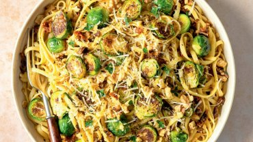 Image for Easy Brussels sprouts pasta from the Hot For Food All Day cookbook