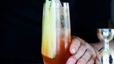 Image for The Lobby Lounge and Raw Bar's Over the Rainbow cocktail