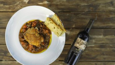 Image for Mission Hill Family Estate's chicken cacciatore