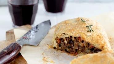 Image for Jillian Harris's and Tori Wesszer's mushroom Wellington