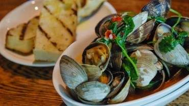Image for Terroir Kitchen's steamed Pacific clams