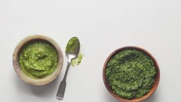 Image for Ricardo Larrivée's broccoli pesto