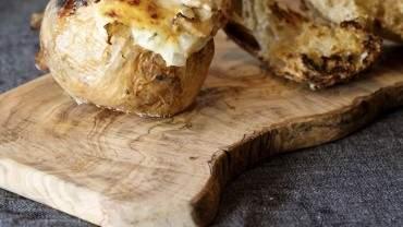 Image for Burdock & Co.'s pine mushroom and Walla Walla onion fonduta